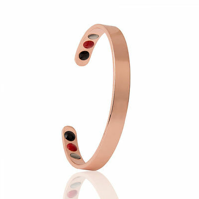 Pure Copper, with Far Infrared and negative ion 3 in 1 Bracelet/bangle