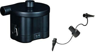 Sidewinder Battery Operated Eletric Air Pump D Cell Inflate Deflate Camping New