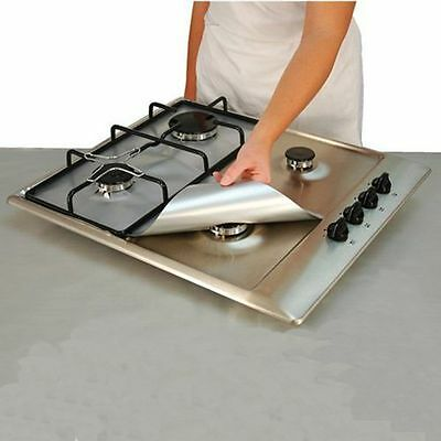 Cooks Teflon Tide Mat Pad Clean Liner Stove Gas Protection Furnace Protector