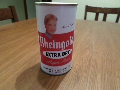 Replica Novelty Rheingold Girl Extra Dry Tami Conner Straight Steel Beer Can