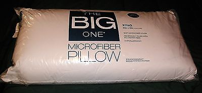 The Big One Microfiber Pillow King Size New