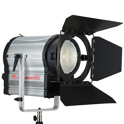 Falcon Eyes CLL-3000TDX Fresnel Spotlight 300W LED Light BI-Color 3000-8000K