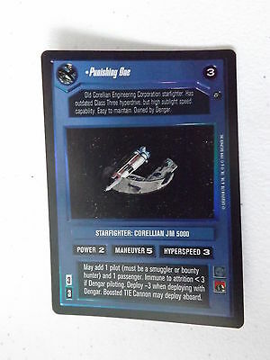 DS FOIL Star Wars CCG Reflections II Bane Malar