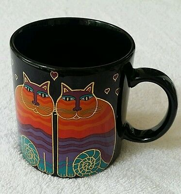 Laurel Burch Rainbow Cats 12 Ounce Coffee Cup
