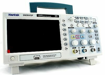 Hantek DSO5072P Digital Oscilloscope 2Channels 70MHz 1GS/s 7'' TFT WVGA(800x480)