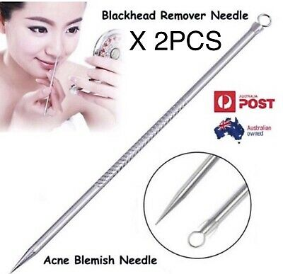 Stainless Steel Acne Blackhead Remover Needle Tool