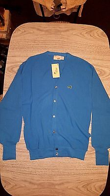 NWT--Vintage The Fox Collection Blue Cardigan Button Up Sweater Sz XL 46-48 NEW!