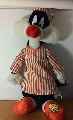 looney tunes sylvester toy plush toy 18inch tall
