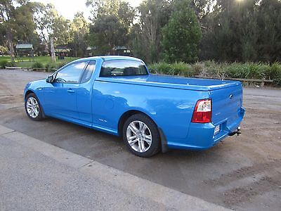 FG Ford PAINTED Smooth Hard Tonneau Cover Flat Ute Lid Top