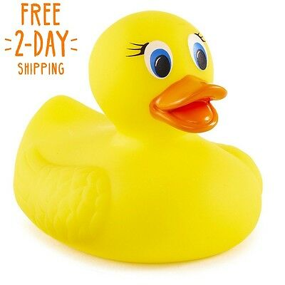 Bath Hot Safety Ducky Toy Baby Shower Bathroom Thermometer Fun Toys Grasp Shape
