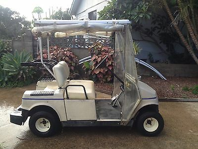 Electric Hyundai Golf Cart