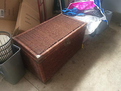 Cane Chest - Large in fair condition