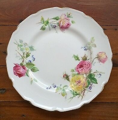ROYAL DOULTON Moss Rose Bread & Butter Plate