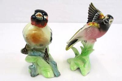 Lot Of Two Porcelain Collectible Birds Goldfinch & Baltimore Oriole Figurine
