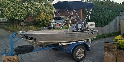 savage tinnie boat 10ft comes with everything