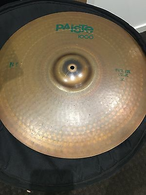 "paiste 20"" 1000 Power Ride Rock cymbal"