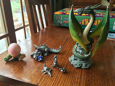 Assorted Dragon Figurine Collectibles 6 Pieces