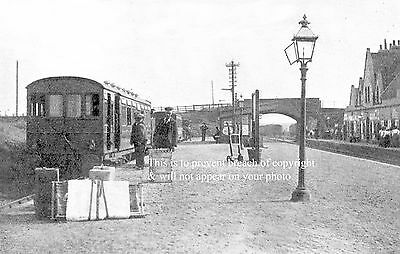 Photo Of Queenborough Station Main Line On Right Sheppey Light Railway On Left