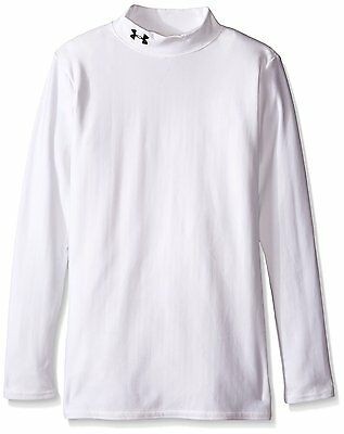 Under Armour Junior ColdGear Fitted Mock Neck Long Sleeve Compression Top - #4SS