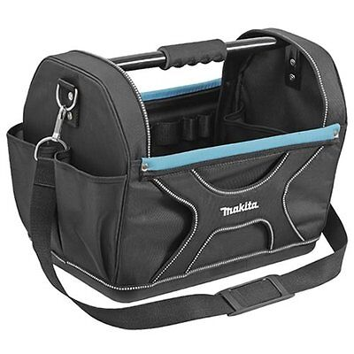 """Makita P-72001 18"""" Open Tote Tool Case / Tool Bag with Strap"""