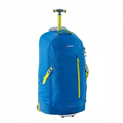 NEW Caribee Travel Stratosphere 75L with Lightweight Wheels in SIRIUS BLUE