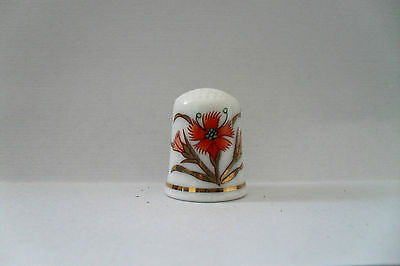 Japanese Arita Gold Imari Bone China Thimble