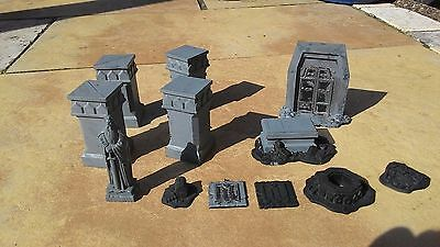 Warhammer Lord Of The Rings Mines Of Moria Scenery Lotr Gw