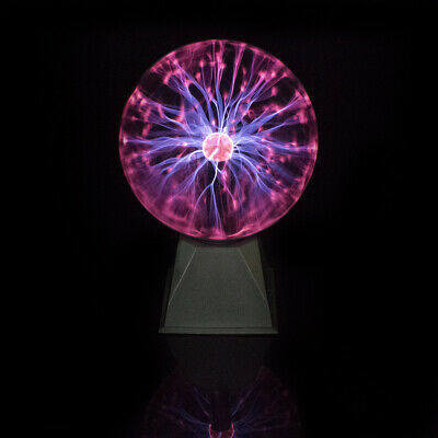 """8"""" Plasma Ball - 2 Modes - Sound Activated - 2017 Model"""
