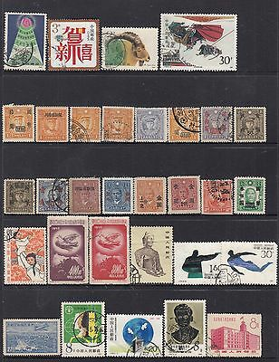 CHINA Mostly Early stamps MINT/MNG/Fine Used Collection (c)