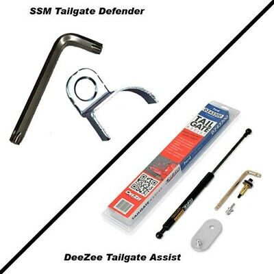 DeeZee Tailgate Assist & SSM Tailgate Defender Combo Kit / 2004-2014 Ford F-150