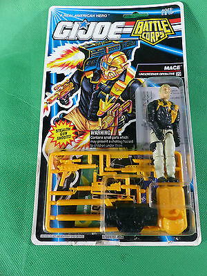 6758   GI Joe Battle Corps Mace   Action Figure    MOSC NOS