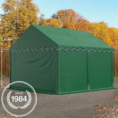 3x4m Heavy Duty PVC Storage Commercial Tent Shelter Shed Temporary Building