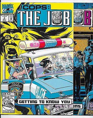 2x Marvel Comic's - Cops: The Job - Vol 1 - #2&4 1992