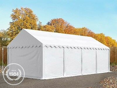 3x8 Heavy Duty PVC Storage Commercial Tent Shelter Shed white