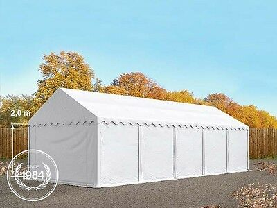 3x10 Heavy Duty PVC Storage Commercial Tent Shelter Shed white