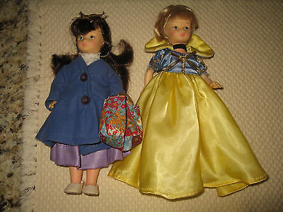 VINTAGE HORSMAN SNOW WHITE and Mary Poppins Dolls
