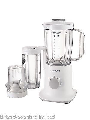 Kenwood BL237 True 1L Blender with Multi Mill & Smoothie 2 Go in White