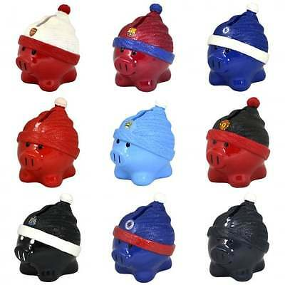 Official Football Team Beanie Piggy Bank - Money Box Ceramic Saver - NEW GIFTS
