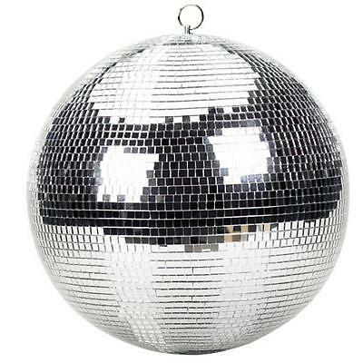 "12"" Disco Ball Silver Glitter Party Decoration Christmas Event Dance Dj Floor"