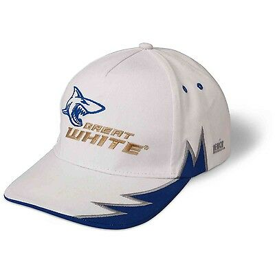 Zebco Great White Baseball Cap Hat Shark Logo One-Size Sea Fishing Apparel