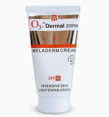 O3 + Dermal Zone Meladerm Intensive Skin Lightening Cream FREE SHIPPING - 50 ML