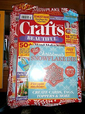 Crafts Beautiful Magazine October 2016 (new) with Free Gift