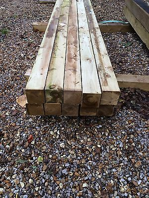 """Sawn Timber 4""""x4""""x 8ft New!!"""