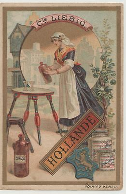 1 Liebig trade card - drink The Netherlands curacao - san291bele- iss in 1891