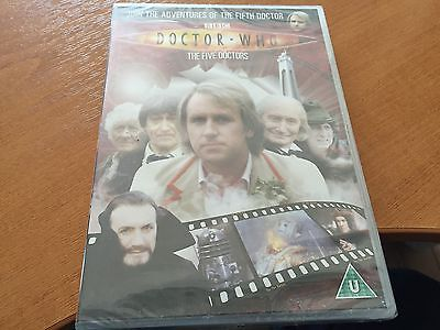 Doctor Dr Who Region 2 Dvd From The Dvd Files - The Five Doctors