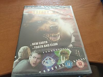 Doctor Dr Who Region 2 Dvd From The Dvd Files - Series 2 - Episodes 1 & 2