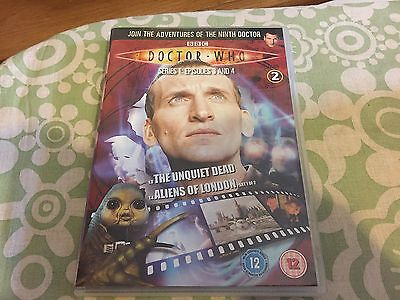 Doctor Dr Who Region 2 Dvd From The Dvd Files - Series 1 Eps 3 & 4