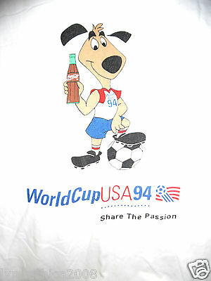WORLD CUP SOCCER USA 1994 Licensed By Coca-Cola (Size L)