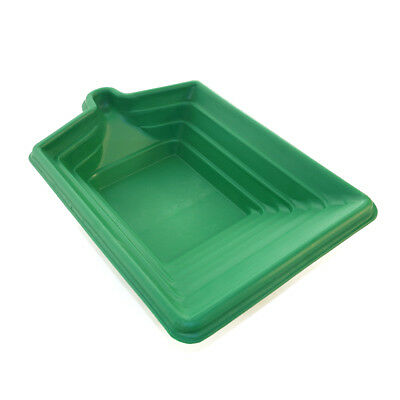 LeTrap Square Gold Pan Green 18 x12 x4 inch for gold mining prospecting.