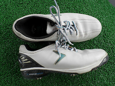 Callaway Hyperbolic  Golf Shoes  Size 8 Woman Excellent Condition Pre-Owned